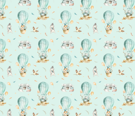 Sweet_dreamer_15 fabric by peace_shop on Spoonflower - custom fabric