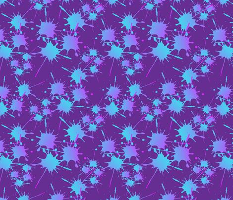 splat_10x10_on_purple-01 fabric by evirose_designs on Spoonflower - custom fabric