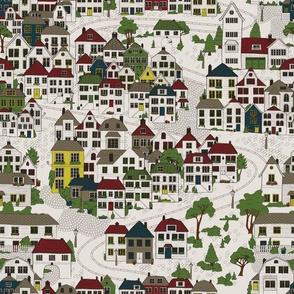 Town In Scandinavia