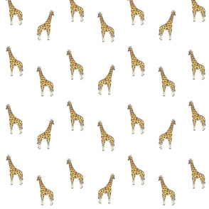 giraffe_fabric_on_white