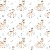 Christmas deer 1