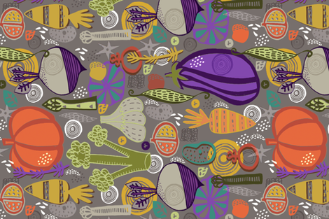 Grow Your Own fabric by slumbermonkey on Spoonflower - custom fabric