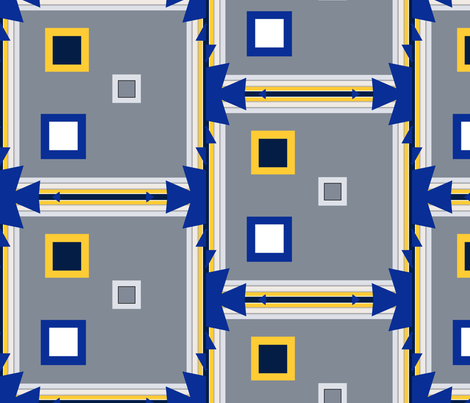 Everywhere I Go-Winter fabric by bent_line_designs on Spoonflower - custom fabric