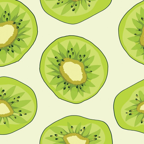 Fun Fruity Kiwi Print
