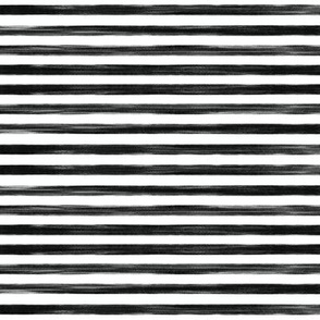 black gouache stripes // small
