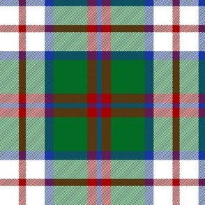 MacIntosh dress tartan, 6""