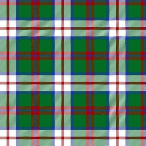 MacIntosh dress tartan, 3""