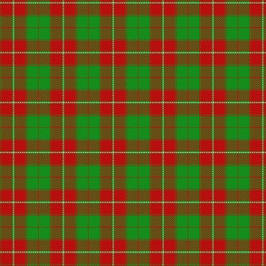 MacIntosh ancient tartan from fragment, 1.5""
