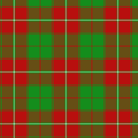 "MacIntosh ancient tartan from fragment, 3"" fabric by weavingmajor on Spoonflower - custom fabric"