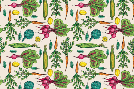 Fresh Picked fabric by diane555 on Spoonflower - custom fabric