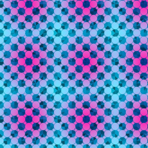 Magenta and Blue Bubble Pop