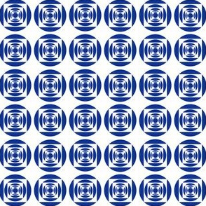 blue circle and square
