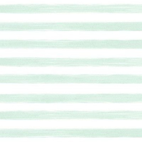 mint gouache stripes