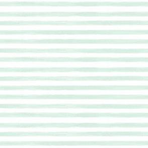 mint gouache stripes // small