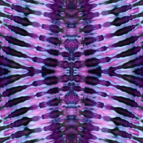 Tie Dye Pattern Purple Black