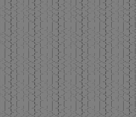 grey water distort fabric by mieczkowska on Spoonflower - custom fabric