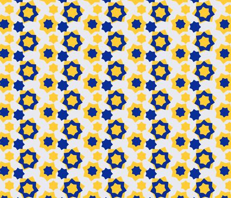 Stars of the season fabric by elizabethmay on Spoonflower - custom fabric