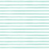 aqua gouache stripes // small