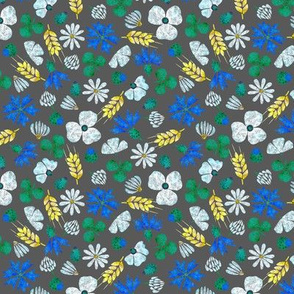 Moroccan Wheat Meadow #2 (grey)
