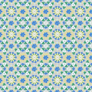 Moroccan Wheat Meadow (silver)