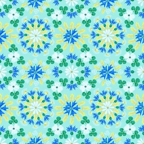 Moroccan Wheat Meadow (mint2)