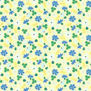 Moroccan Wheat Meadow #2 (yellow)