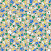Moroccan Wheat Meadow #2 (beige)