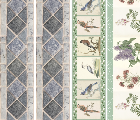 Wallpaper Borders Wallpaper Bronwyncarlisle Spoonflower