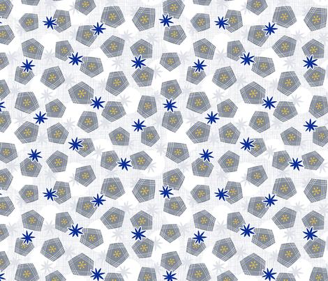 Winter Mod PJ's Limited fabric by jewelraider on Spoonflower - custom fabric