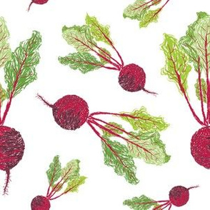 Feel the Beet in Radish White
