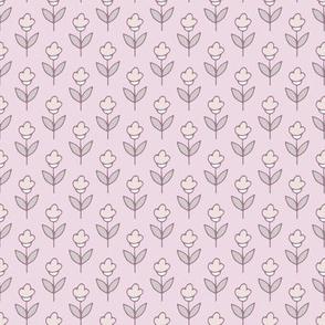 Polka flowers