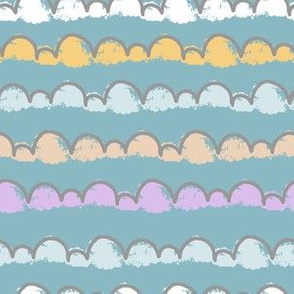Bubbles clouds