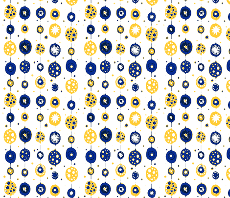 All Baubles fabric by floramoon_designs on Spoonflower - custom fabric
