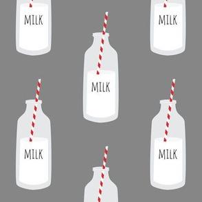 Milk // Gray