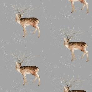 Let it Snow Deer