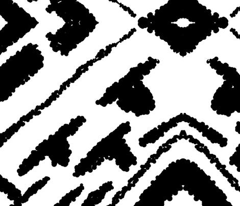 diamonds_valuable_white fabric by blayney-paul on Spoonflower - custom fabric