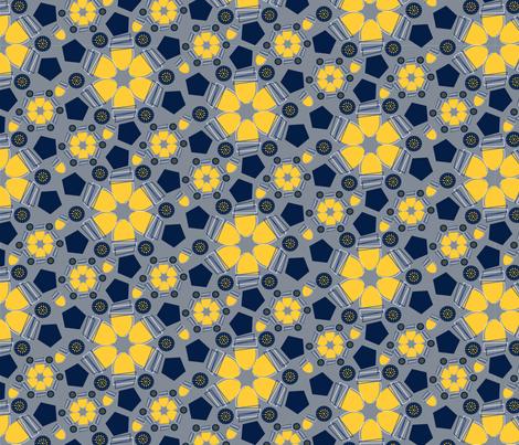 SpoonflowWinterModChallengeACORNS fabric by jean_calomeni on Spoonflower - custom fabric