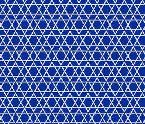 Star of David fabric by themadcraftduckie on Spoonflower - custom fabric