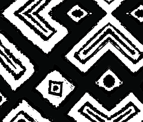 diamond_diagonal_hybrid_large fabric by blayney-paul on Spoonflower - custom fabric
