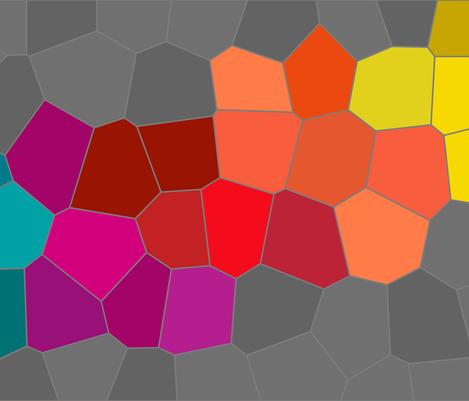 Pixel Wave fabric by plenttiful on Spoonflower - custom fabric