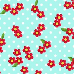 Cherrie Blossom Aqua