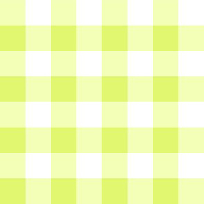 Big Old Gingham Lime
