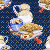 Rfrench_breakfast_coffee_croissant_deep_blue_by_floweryhat_shop_thumb