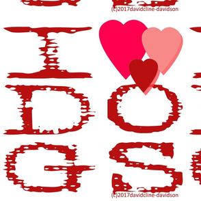 I HEARTS DOGS