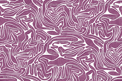 Red Cabbage Labyrinth