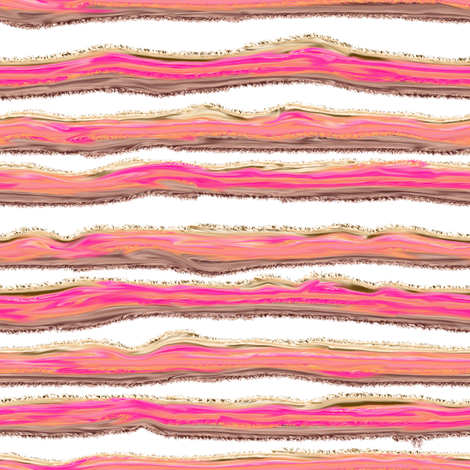 ICE CREAM STRIPED BACKGROUND WHITE fabric by paysmage on Spoonflower - custom fabric
