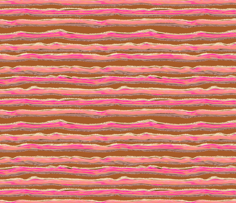 ICE CREAM STRIPED BACKGROUND TOFFEE CARAMEL CHOCOLATE BROWN fabric by paysmage on Spoonflower - custom fabric
