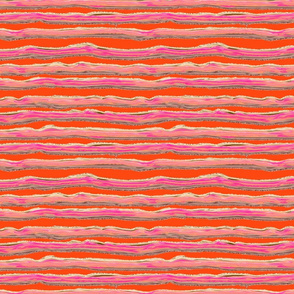 ICE CREAM STRIPED BACKGROUND BRIGHT ORANGE