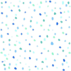 Polka Dots Blue Sail Regatta blue white