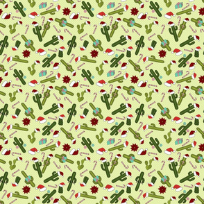 Christmas Cactus Pattern - Christmas Cactus Collection